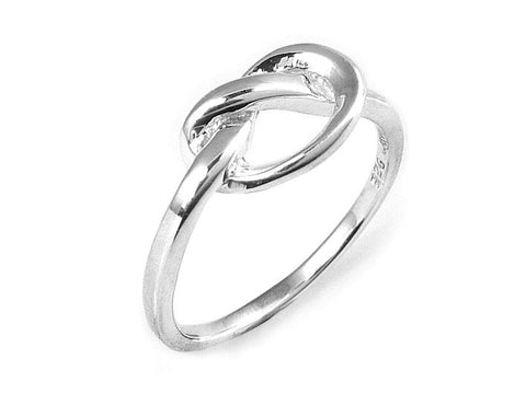 Silver Ring - Love Knot