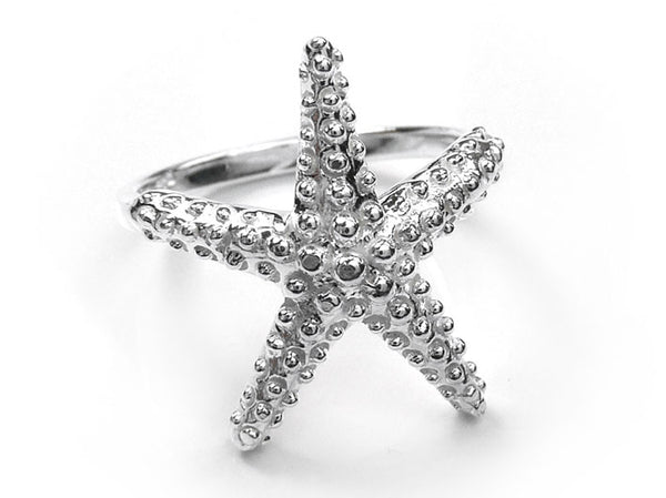 Silver Ring - Starfish