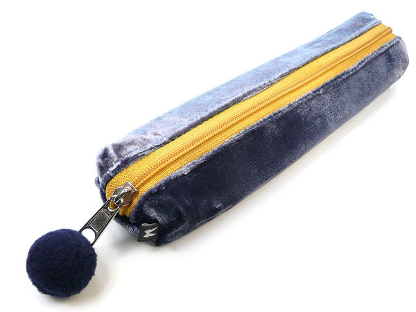 Zipped Case - Indigo Velvet