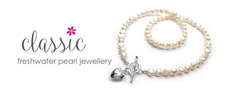 Freshwater pearl jewellery collection