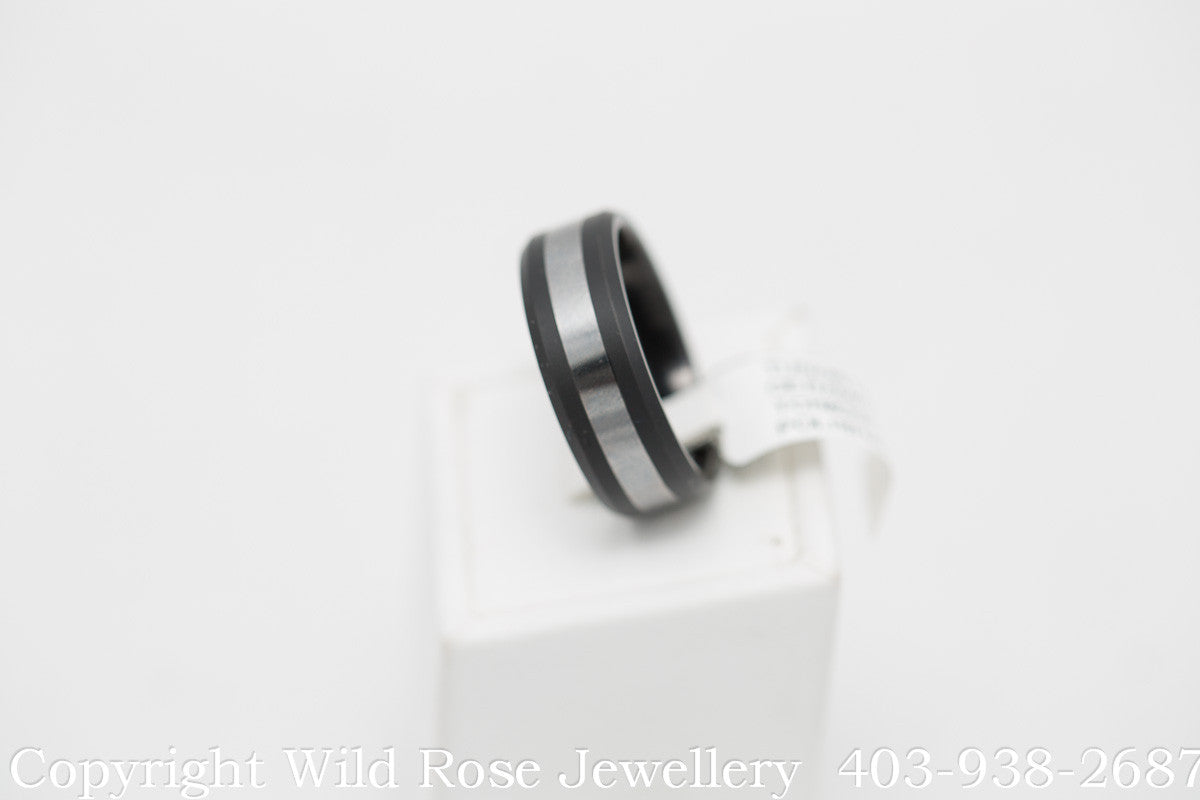 Tungsten Ceramic Band