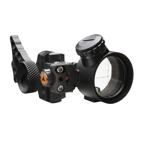 Apex Gear Covert Pro Single-Pin Sight-Green Pwr Dot-Black