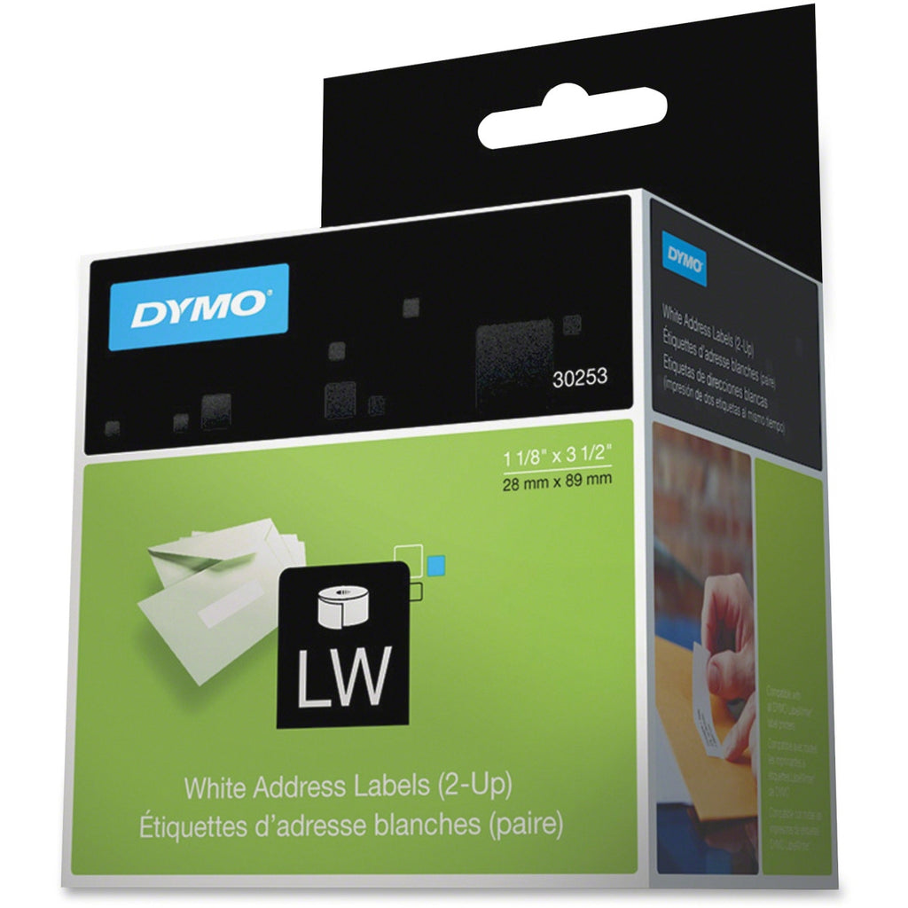 "Dymo Address Labels - 1.12"" x 3.5"" - 1 x Roll, 700 x Label"