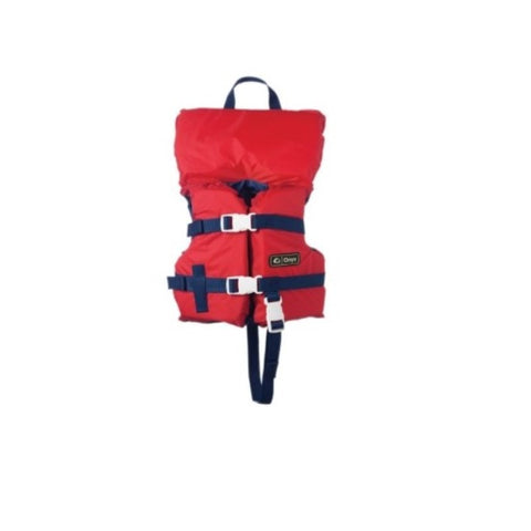 Onyx Infant Boating Vest Red