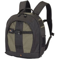 Lowepro Pro Runner 200 AW Carrying Case (Backpack) for Camera - Pine Green - Ripstop Polyester