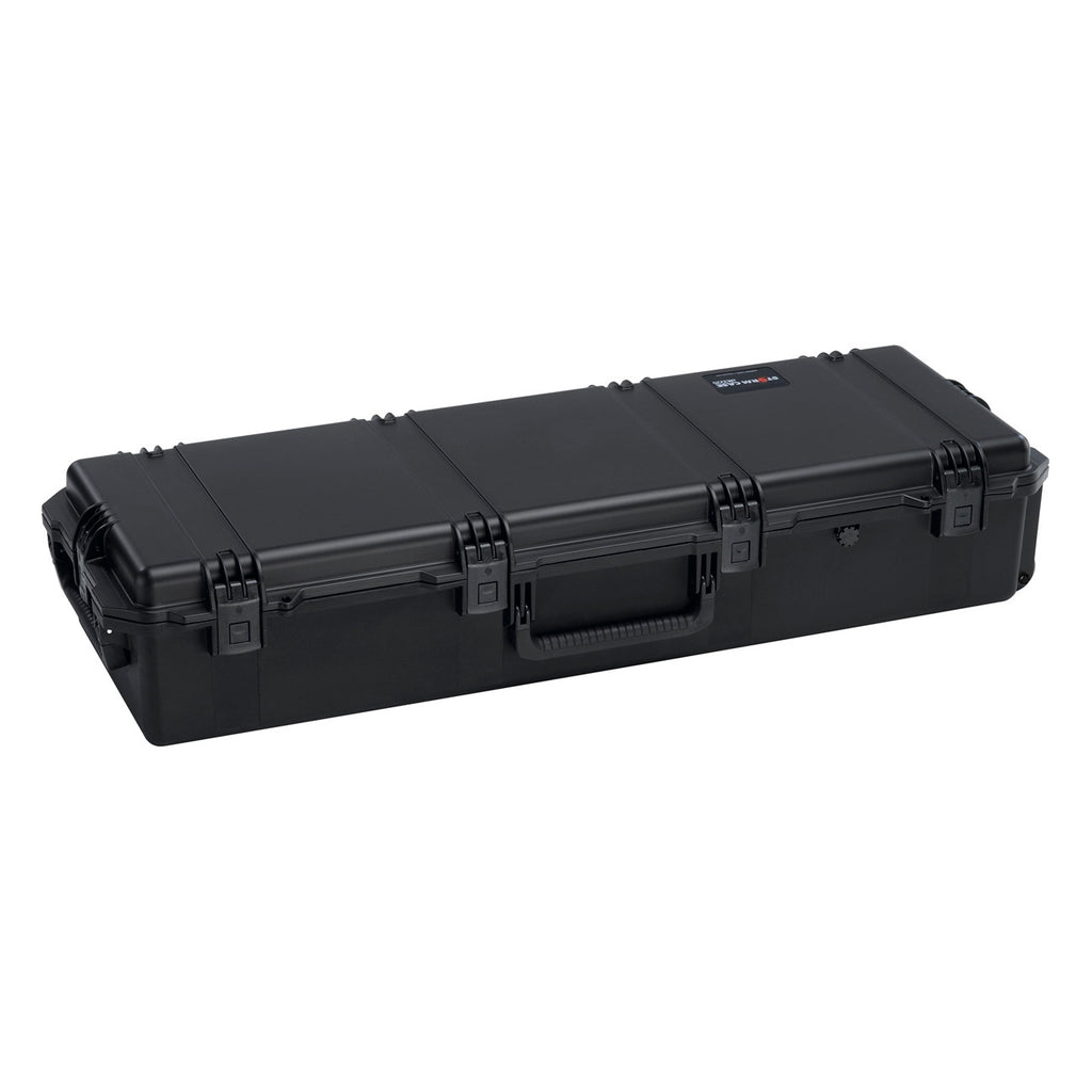 "Hardigg Storm Case iM3220 Shipping Case - Internal Dimensions: 44"" Width x 14"" Depth x 8.50"" Height - External Dimensions: 47.2"" Width x 16.5"" Depth x 9.2"" Height - HPX Resin - Black - Military"