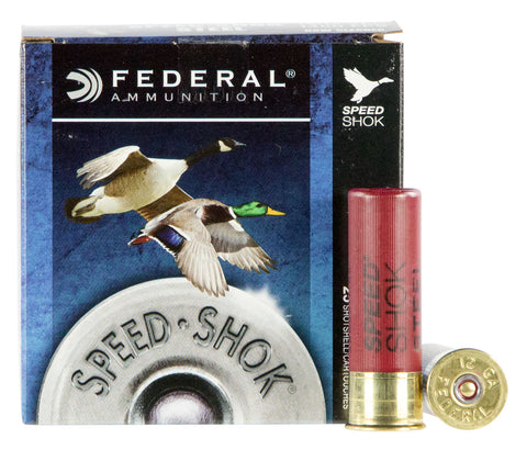 "Federal WF1424 Speed-Shok  12 Gauge 3"" 1 1/4 oz 4 Shot 25 Bx/ 10 Cs"