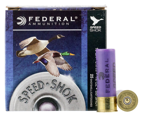 "Federal WF168BB Speed-Shok Waterfowl 16 Gauge 2.75"" 15/16 oz BB Shot 25 Bx/ 10 Cs"