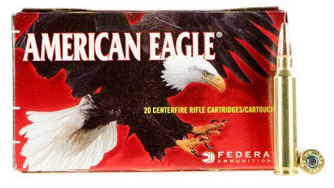 Federal AE223T75 American Eagle 223 Remington/5.56 NATO 75 GR Total Metal Jacket 20 Bx/ 25 Cs