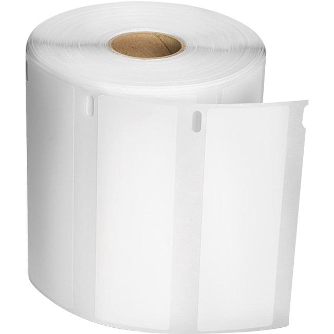 "Dymo High Capacity Address Label - 1.10"" Width x 3.50"" Length - 2 / Box - Rectangle - 1050/Roll - Thermal Transfer - White"