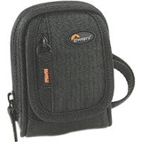 Lowepro Ridge 10 Carrying Case (Pouch) for Camera - Black - Water Resistant - Fabric