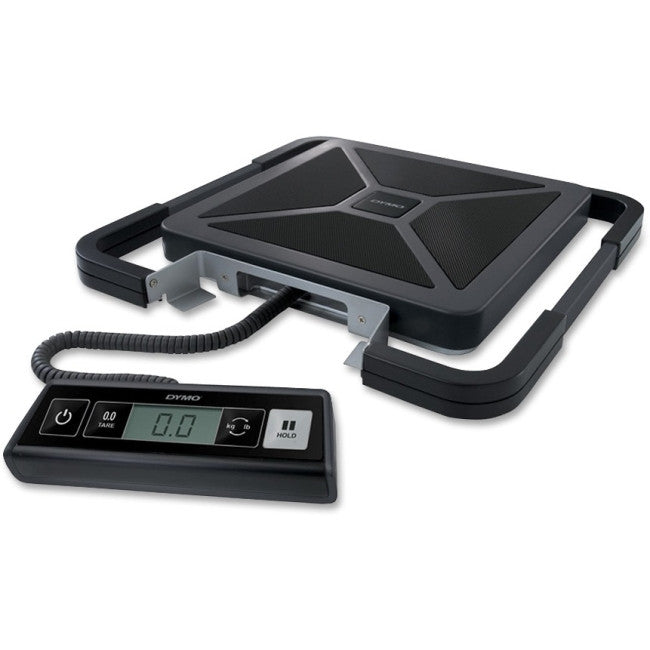 "Dymo S100 Digital USB Shipping Scale - 100 lb / 45 kg Maximum Weight Capacity - 2"" Maximum Height Measurement - Silver"