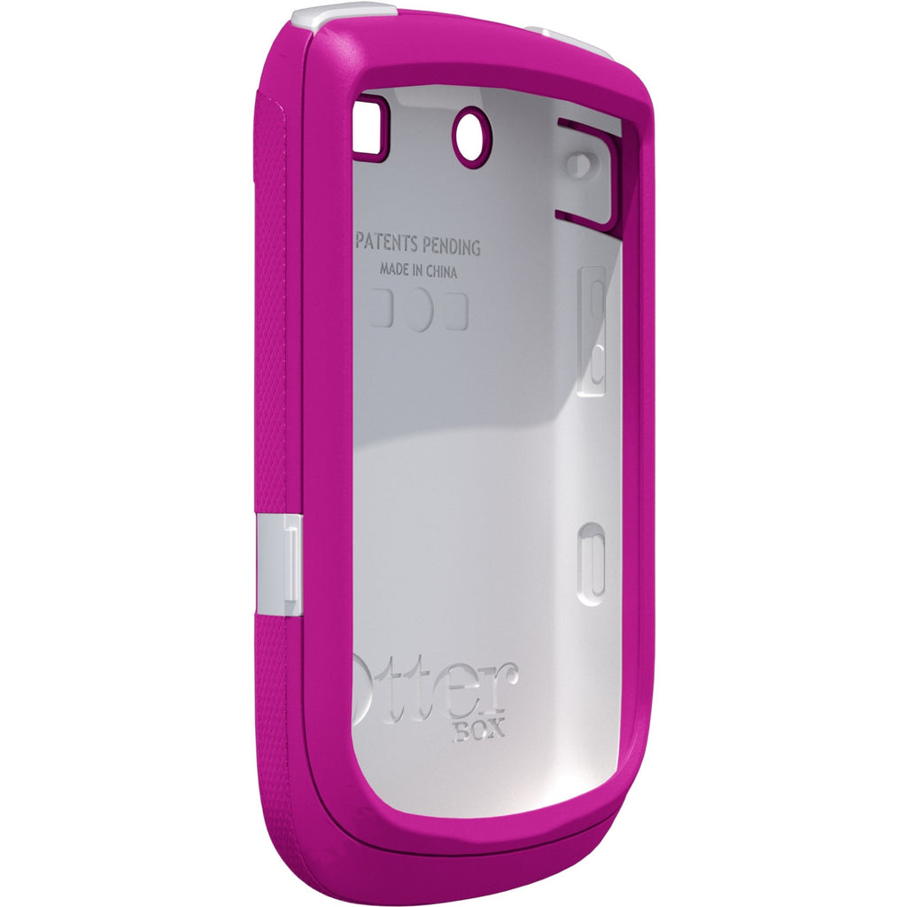 OtterBox Commuter Smartphone Case - Smartphone - White, Hot Pink - Polycarbonate, Silicone