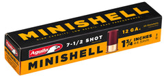 "Aguila 1C128968 Minishell Competition  12 Gauge 1.75"" 5/8 oz 7.5 Shot 20 Bx/ 25 Cs"