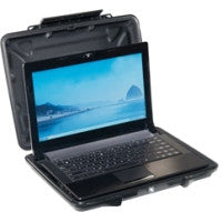 "Pelican HardBack 1085cc Carrying Case (Attach?©) for 14"" Notebook - Black - Crush Proof, Dust Proof - Cycaloy"