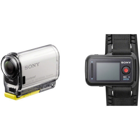Sony - Action Cam + Live-View Remote Bundle
