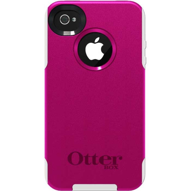 OtterBox iPhone 4 / 4S Commuter Series Case - iPhone - Avon Pink - Silicone, Polycarbonate