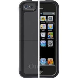 OtterBox iPhone 5/5S Reflex Series Case - iPhone - Slate Gray, Black - Polycarbonate, Rubber