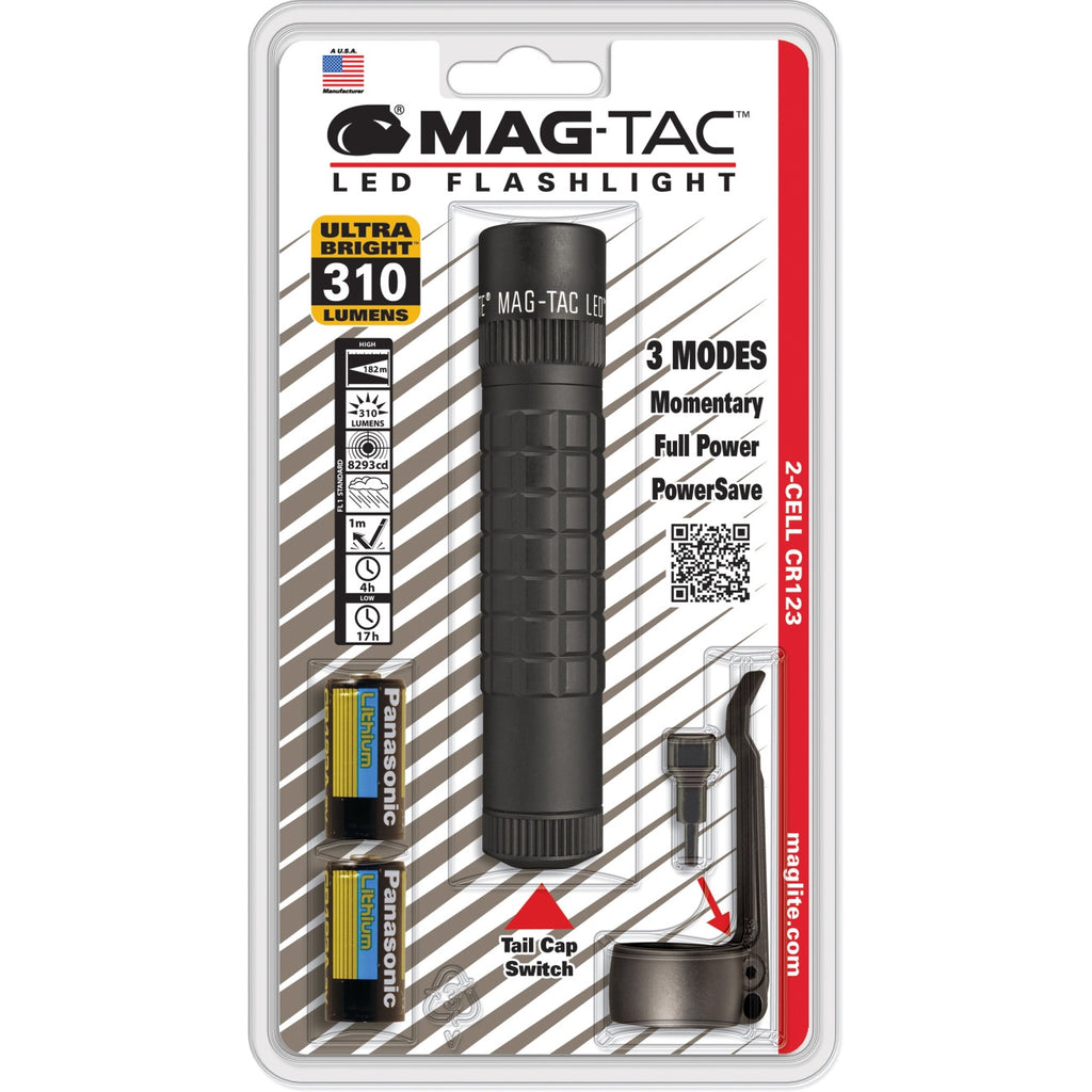 Mag-Lite Mag-Tac LED Flashlight - CR123A