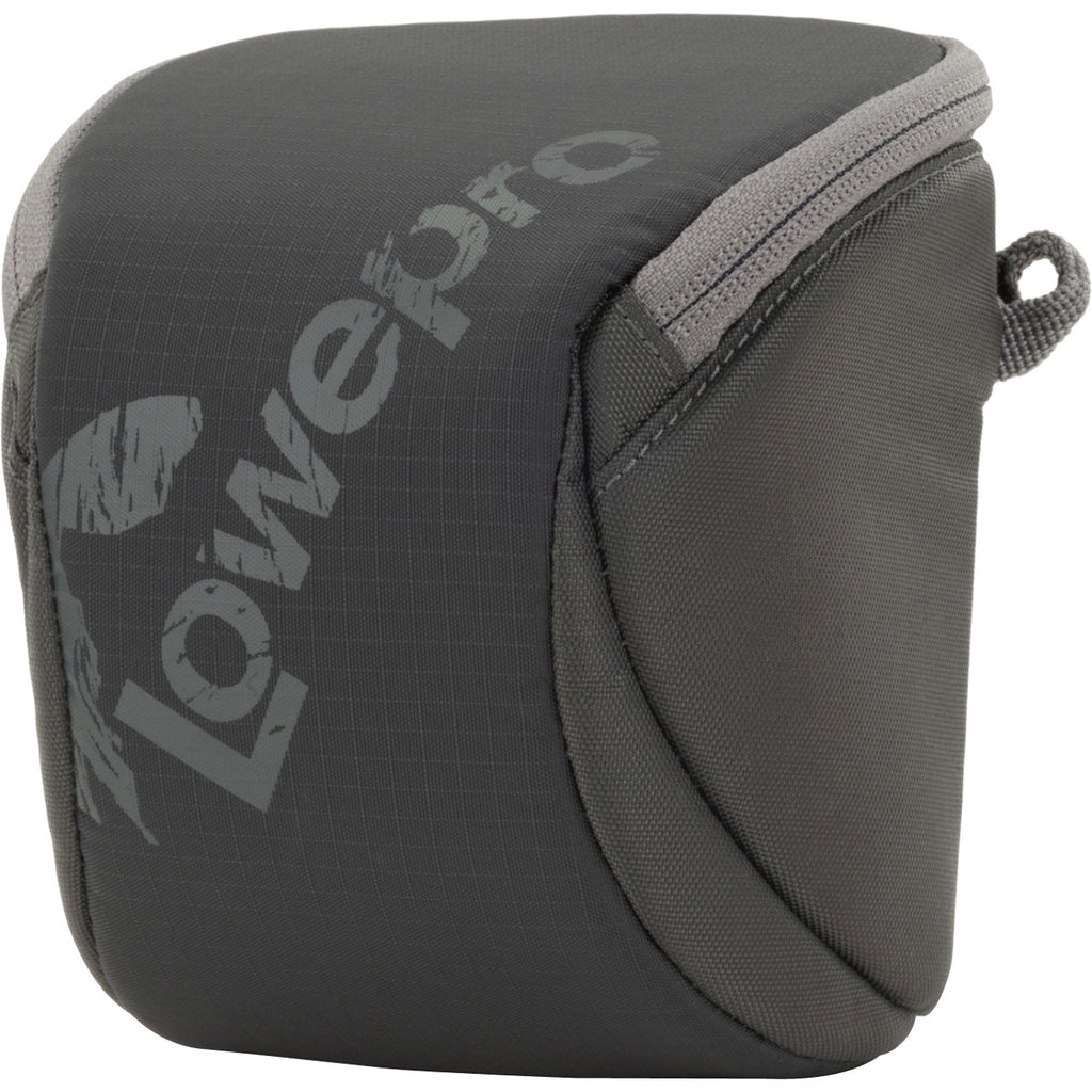 Lowepro Dashpoint 30 Carrying Case (Pouch) for Camera - Slate Gray - Impact Resistance - Polyester