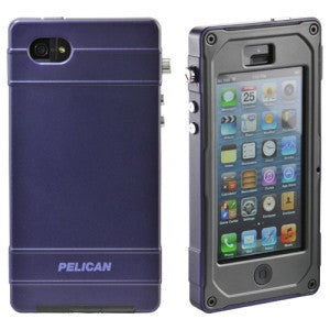 Pelican CE1180 Vault Series Phone Case - iPhone - Black, Purple
