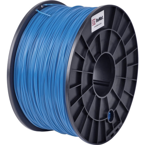 BuMat 1.75mm ABS Filament Cartridge - Blue - Blue