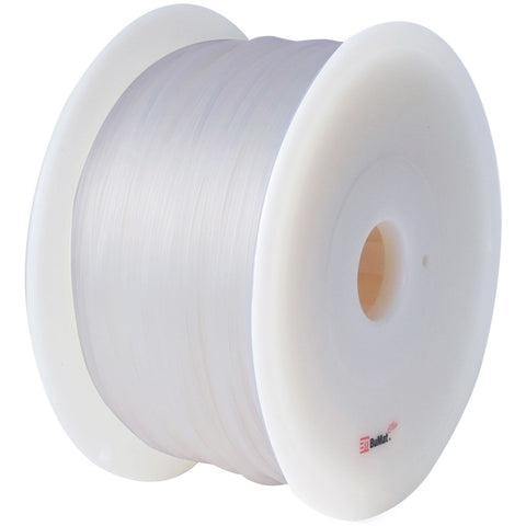 BuMat 1.75mm ABS Filament Cartridge - Clear - Clear