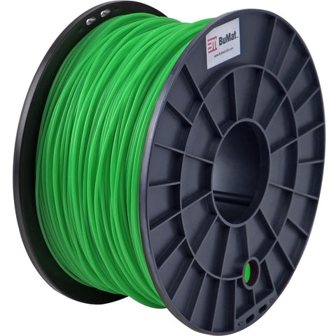 BuMat 1.75mm ABS Filament Cartridge - Green - Green