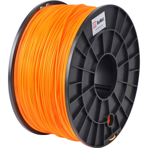 BuMat 1.75mm ABS Filament Cartridge - Orange - Orange