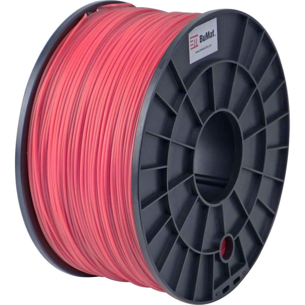 BuMat 1.75mm ABS Filament Cartridge - Red - Red
