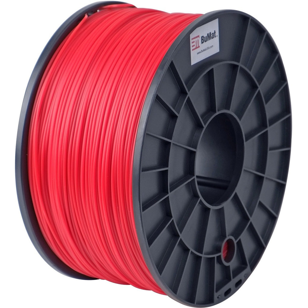BuMat 1.75mm PLA Filament Cartridge - Red - Red