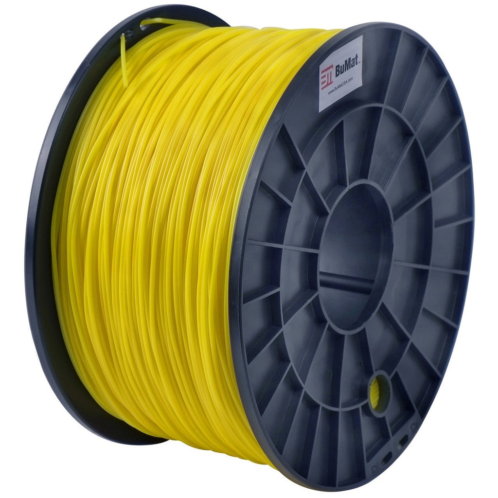 BuMat 1.75mm PLA Filament Cartridge - Translucent Yellow - Translucent Yellow