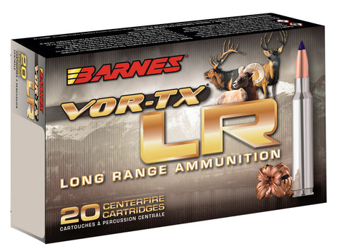 Barnes Bullets 30232 VOR-TX Rifle 6mm Creedmoor 95 GR LRX Boat Tail 20 Bx/ 10 Cs
