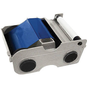 FARGO DTC1000 Blue Cartridge With Cleaning Roller-1000 Images