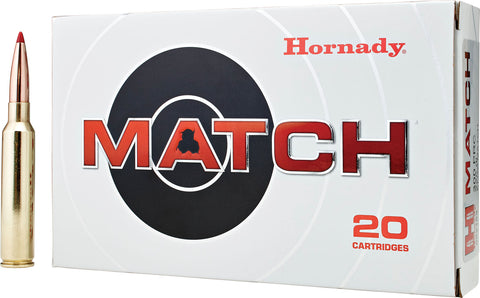 Hornady 82162 Match   300 Precision Rifle Cartridge (PRC) 225 GR ELD-Match 20 Bx/ 10 Cs