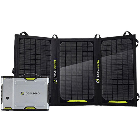 Goal Zero - Sherpa 100 Solar Charging Kit with 110VAC Inverter