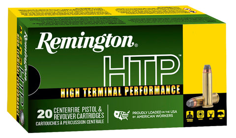 Remington Ammunition RTP357M2A High Terminal Performance   357 Magnum 158 GR Semi-Jacketed Hollow Point 20 Bx/ 25 Cs