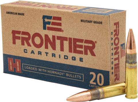 Frontier Cartridge FR400 Rifle  300 Blackout 125 gr Full Metal Jacket (FMJ) 20 Bx/ 10 Cs