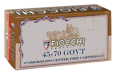 Fiocchi 4570A    45-70 Government 405 GR 20 Bx/ 10 Cs