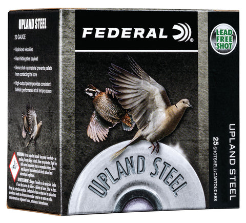 "Federal USH2075 Upland Steel 20 Gauge 2.75"" 7/8 oz 7.5 Shot 25 Bx/ 10 Cs"
