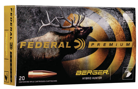 Federal P270WSMBCH1 Premium Berger Hybrid Hunter 270 WSM 140 gr Berger Hybrid Hunter 20 Bx/ 10 Cs