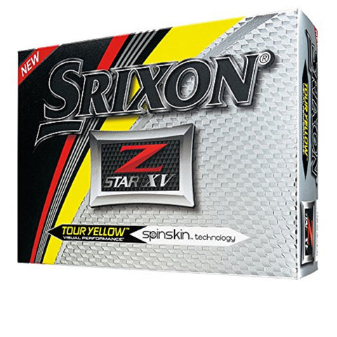 Srixon Z-Star XV Golf Ball Yellow-Dozen