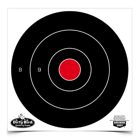 Birchwood Casey Dirty Bird 8in Round Bullseye-200 Targets