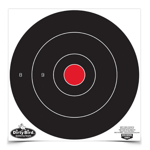 Birchwood Casey Dirty Bird 12in Bullseye-100 Targets