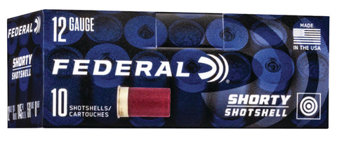 "Federal SH1298 Shorty  12 Gauge 1.75"" 8 Shot 10 Bx/ 10 Cs"