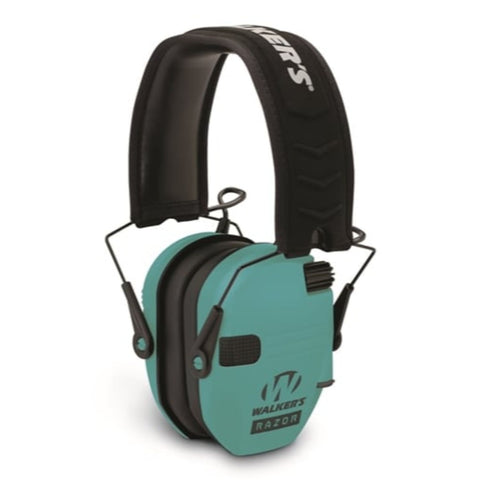 Walkers Razor Slim Electronic Muff Light Teal