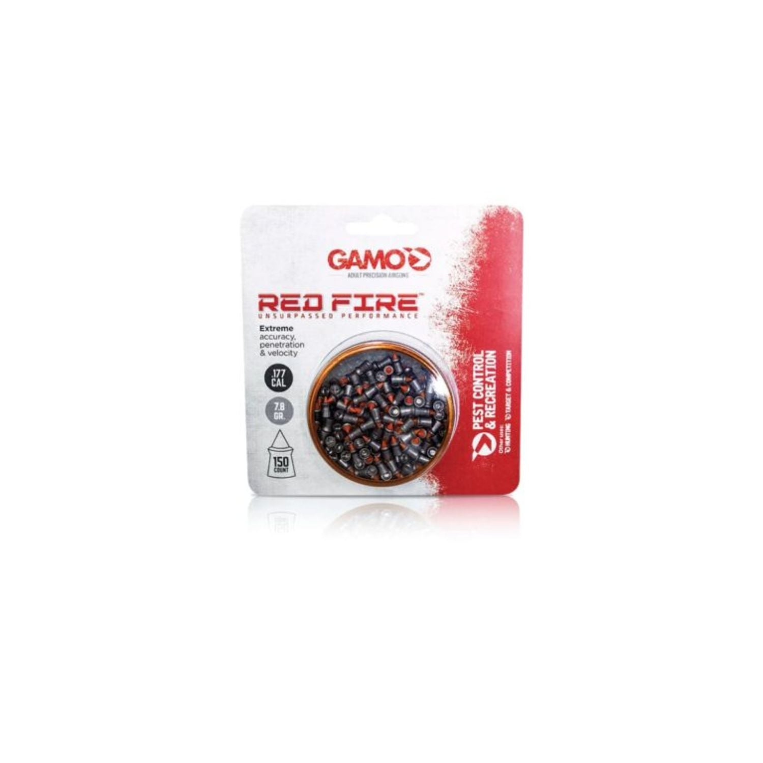 Gamo Red Fire Pellets .177 150 Count Tin