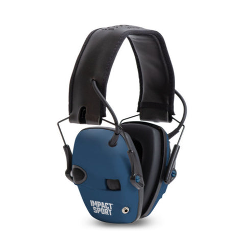 Howard Leight Impact Sport TRU Blue Electronic Muff