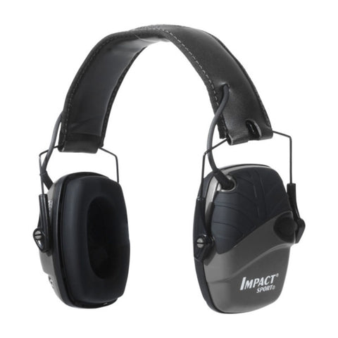 Howard Leight Impact Sport Blk Dlx Headband Electronic Muff