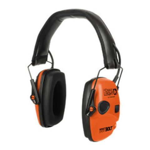 Howard Leight Impact Sport Bolt Orange Electronic Earmuff